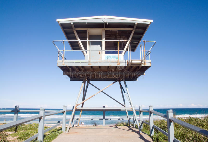 Life guard house royalty free stock images