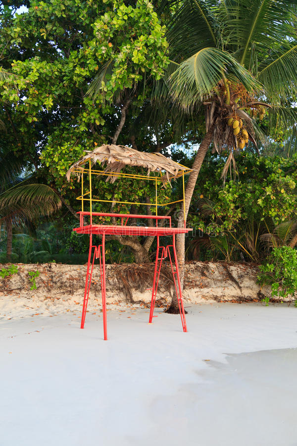 Download Life Guard Stand stock photo. Image of protection, empty - 25424754