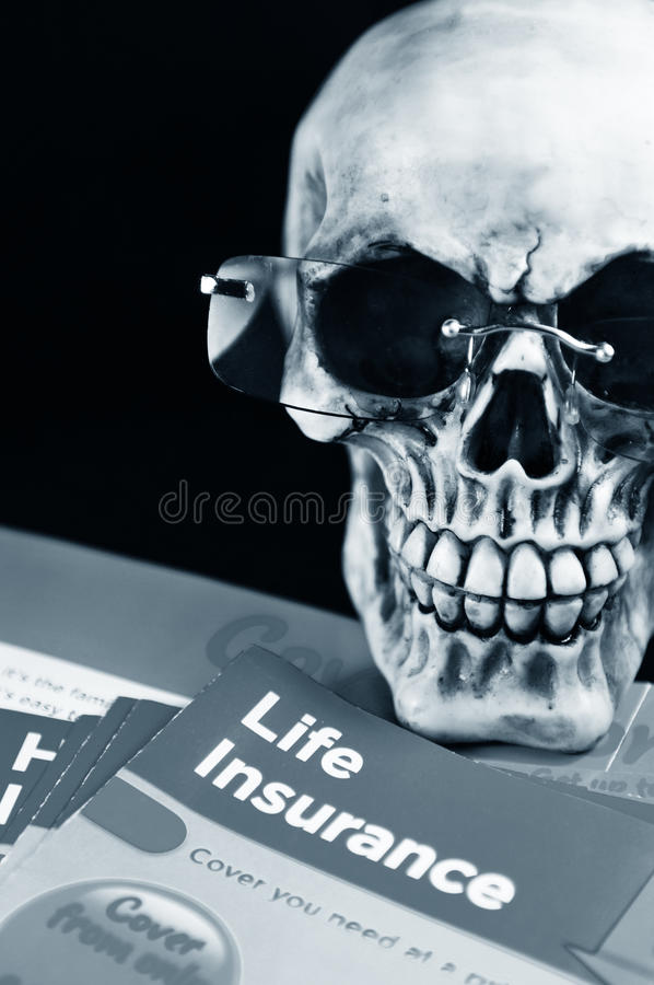 Download Life insurance stock image. Image of bones, assure, dying - 18515561