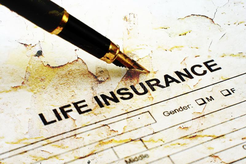 Life insurance royalty free stock photography