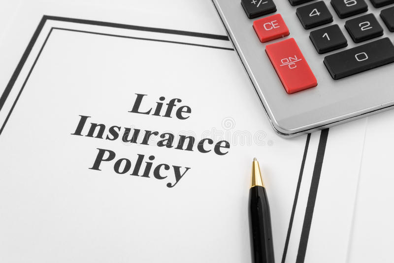 Download Life Insurance Policy stock photo. Image of accident, paper - 9915200