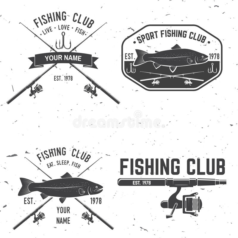 Free Life Is Better When You Fish. Vector Illustration. Royalty Free Stock Image - 95398866