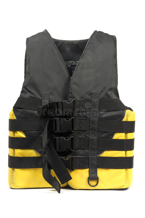 Download Life jacket stock image. Image of black, isolated, ocean - 3183345