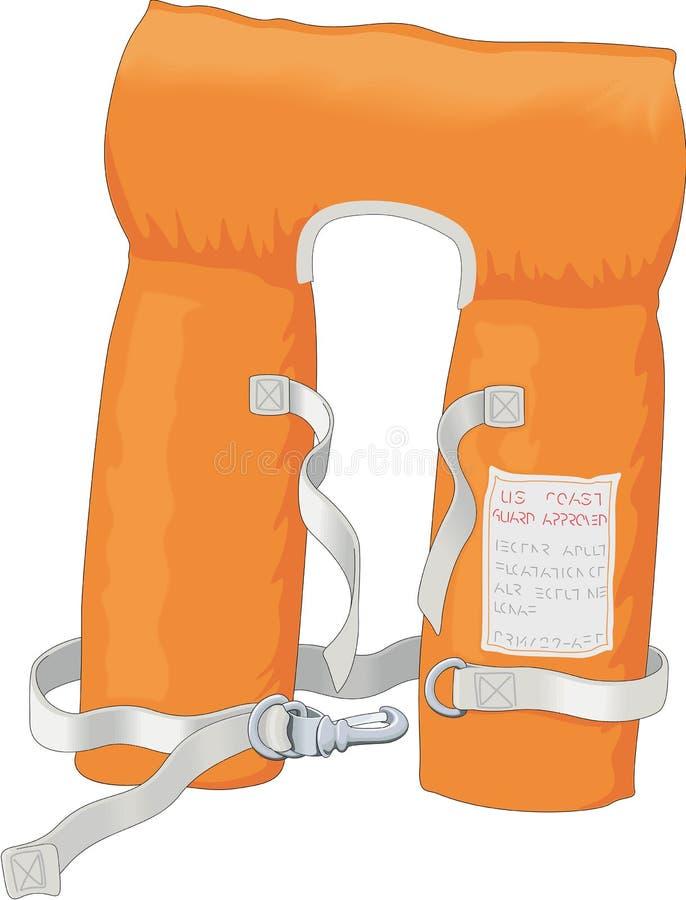 Free Life Jacket Vector Illustration Stock Images - 135204684