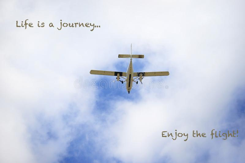 Life is a Journey stock photo