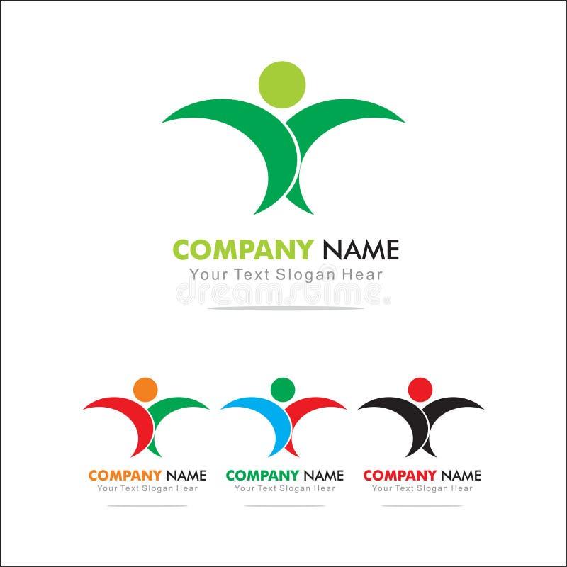 Life. Logo Design Template royalty free illustration