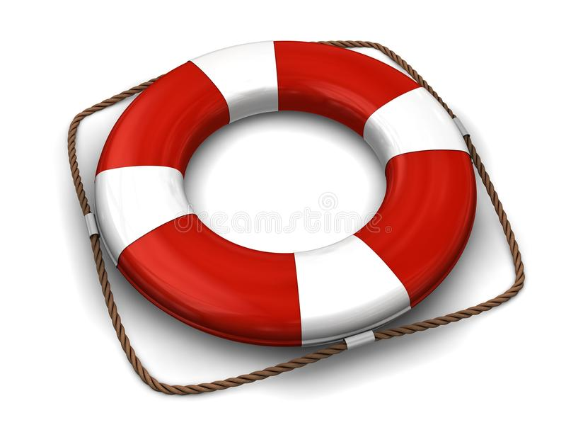 Download Life preserver stock illustration. Illustration of lifebuoy - 15825575