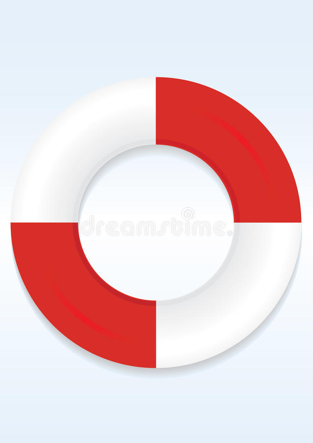 Download Life Preserver Ring stock vector. Image of safety, shipwreck - 13106679