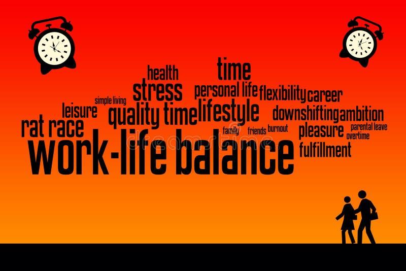 Life quality stock illustration