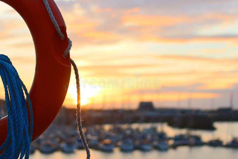Life Ring At Sunset Free Public Domain Cc0 Image