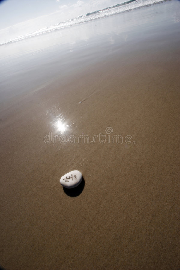 Life's a Beach royalty free stock image