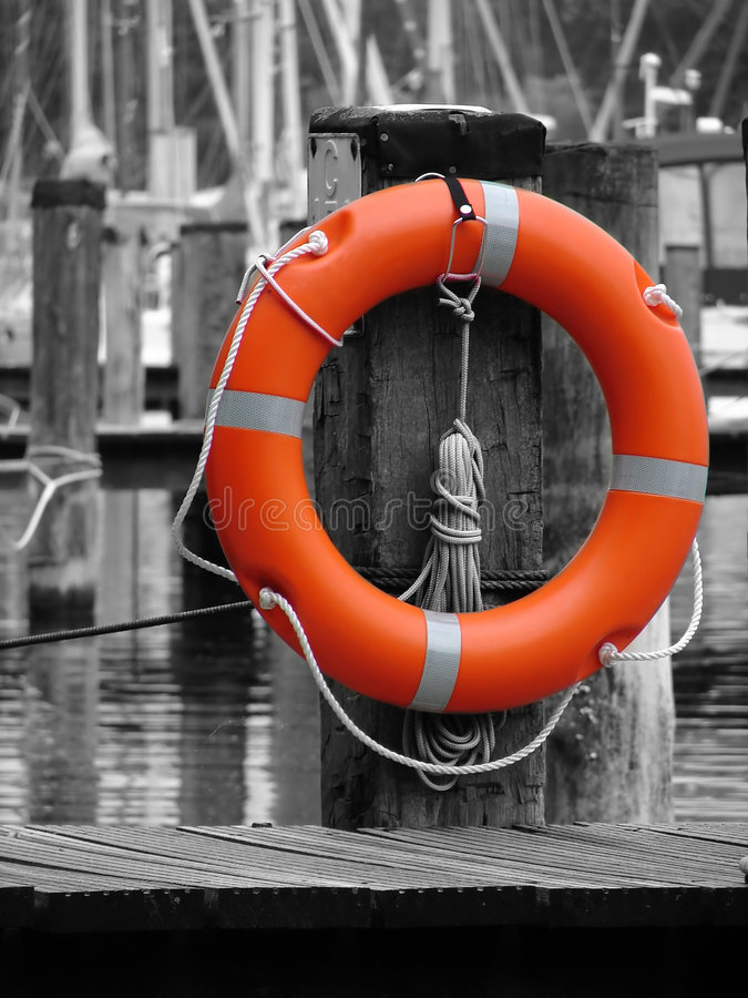 Life-saver Stock Photo