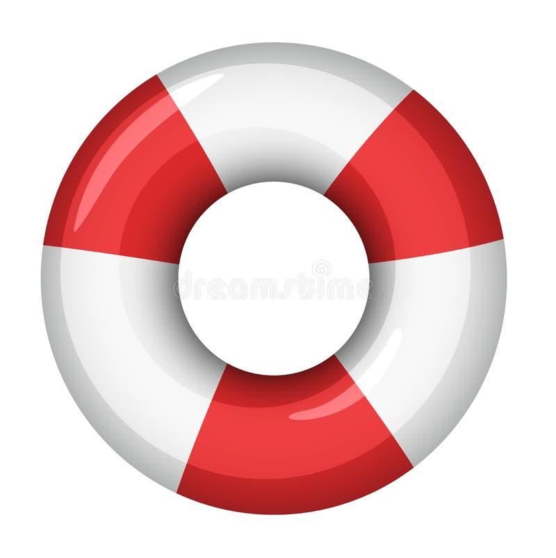 Download Life saver icon stock illustration. Illustration of water - 24746507