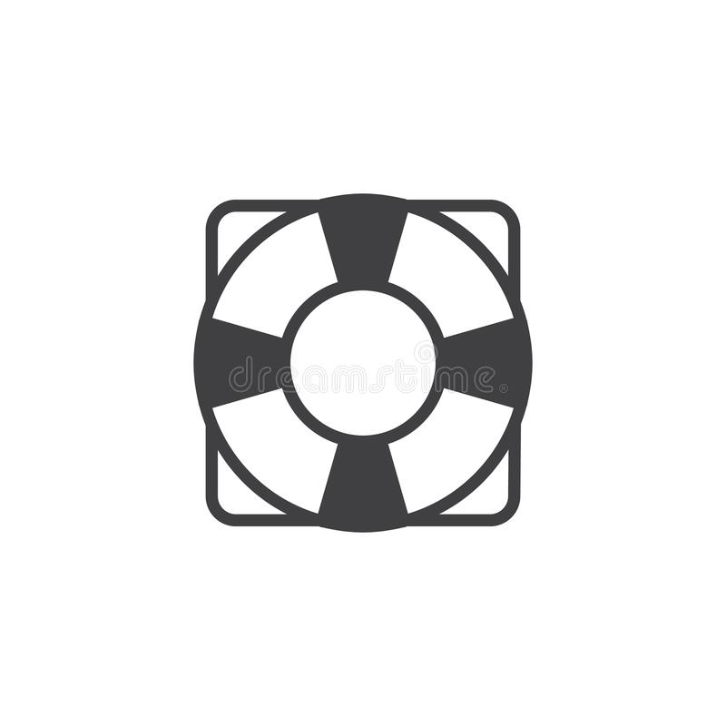 Download Life saver icon vector stock vector. Illustration of lifebelt - 109108576