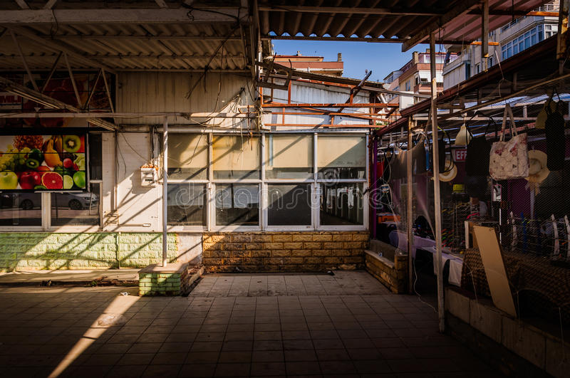 Life In A Small Turkish Town. Conceptual editorial photography to reflect the life in an average small seaside town in country Turkey. Cinarcik town has many royalty free stock photo