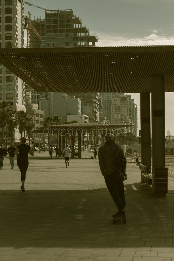 Tel Aviv in Israel royalty free stock photography
