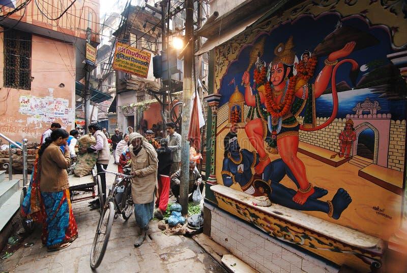 Daily Life Of Varanasi People Editorial Stock Photo