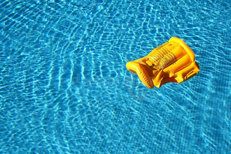 Life vest floating stock images