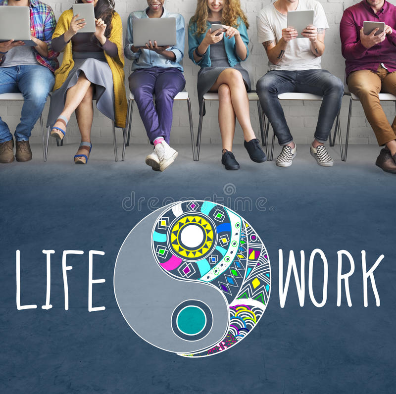 Life Work Balance Functional Nature Active Style Concept stock photography