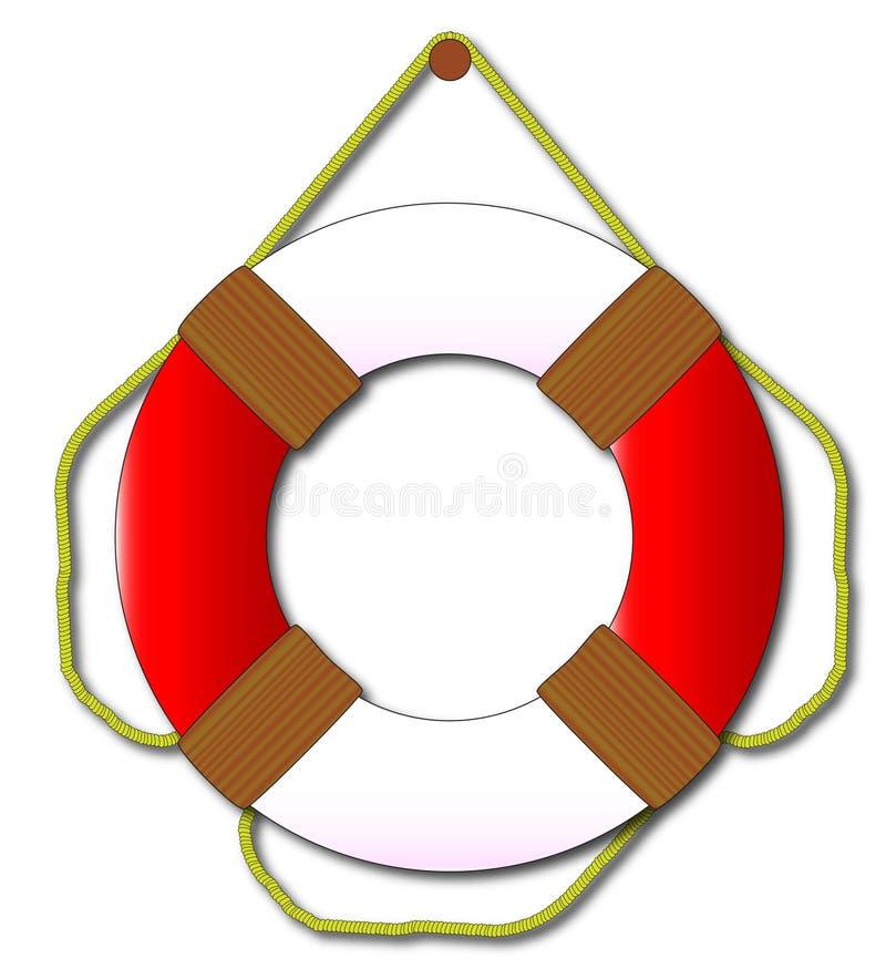 lifebelt ilustración del vector