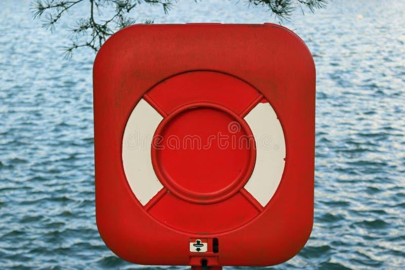 Lifebelt w pudełku zdjęcia royalty free