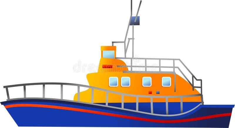 Lifeboat stock illustration
