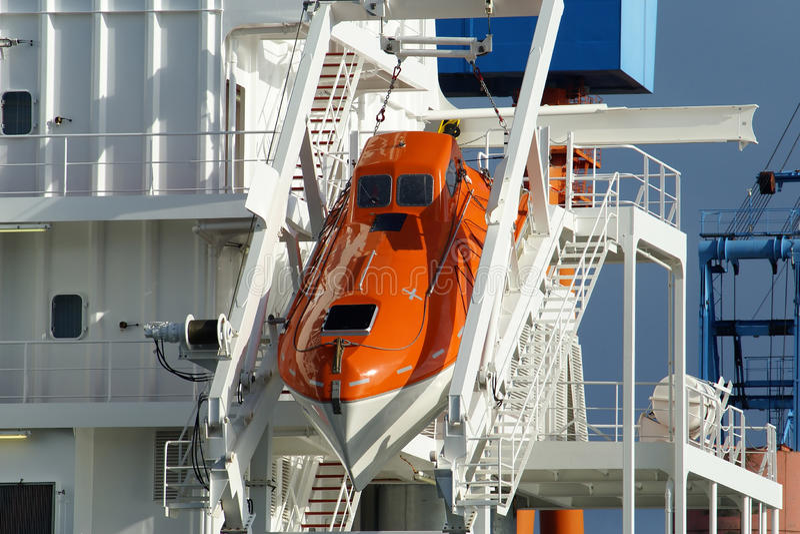 lifeboat fotografia royalty free