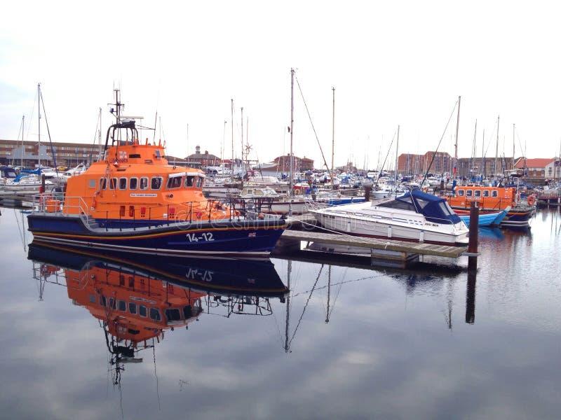 Lifeboat royaltyfri foto