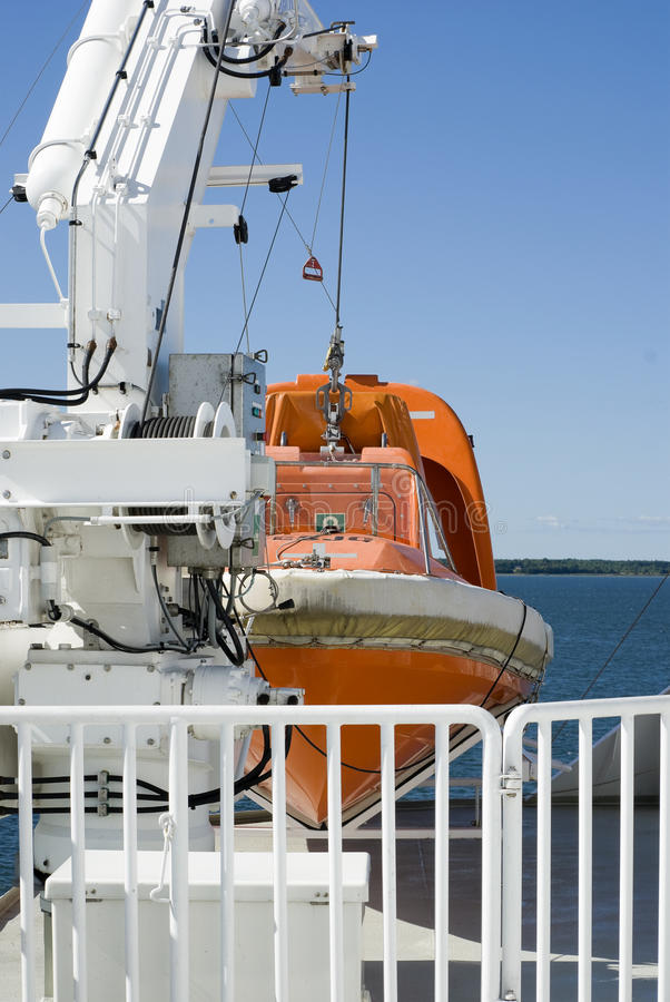 Download Lifeboat stock photo. Image of blue, hang, cruise, lifeboat - 33777746