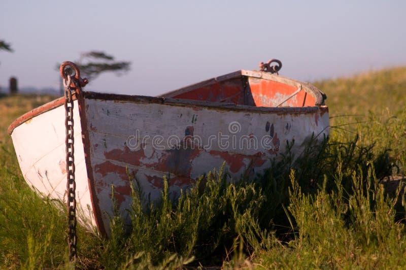 Lifeboat na plaży, Portowy Townsend, WA obraz royalty free