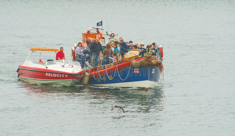 Download Lifeboat rescue at Whitby. editorial photo. Image of coast - 15538336
