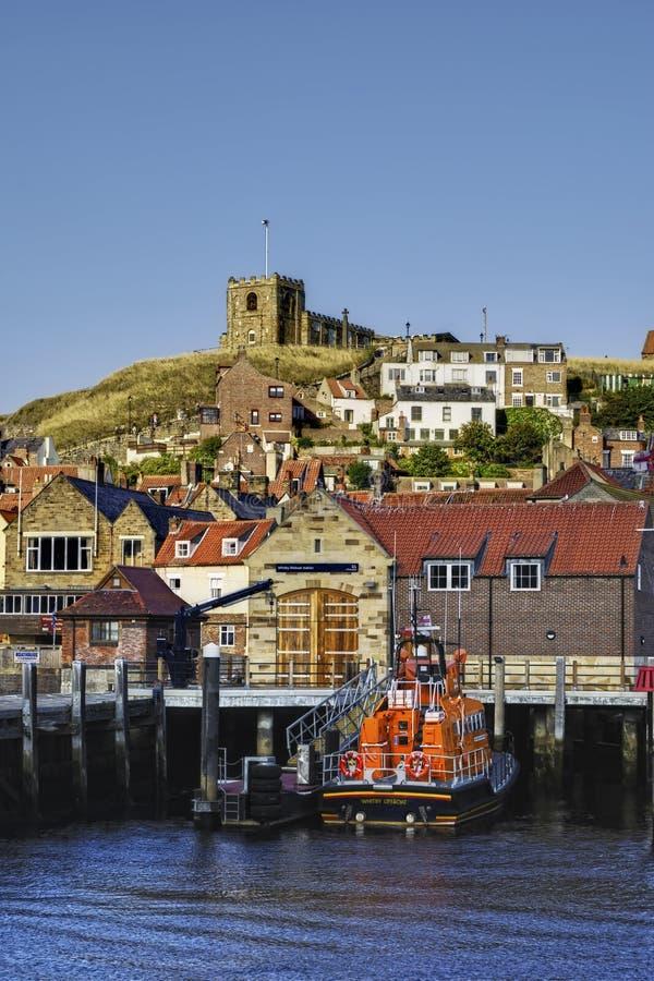 lifeboat whitby zdjęcia stock