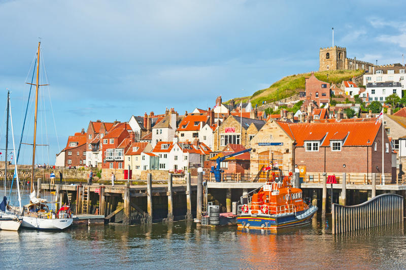 Download Lifeboat at Whitby editorial image. Image of rnli, orange - 27104980