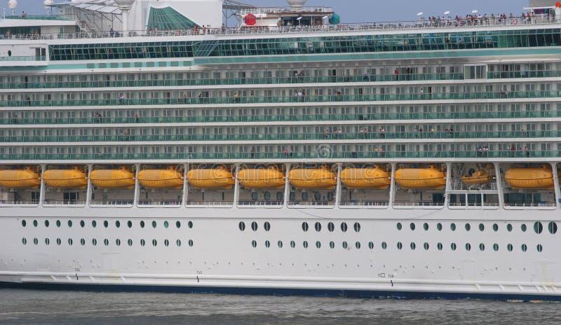 lifeboats балконов стоковые изображения
