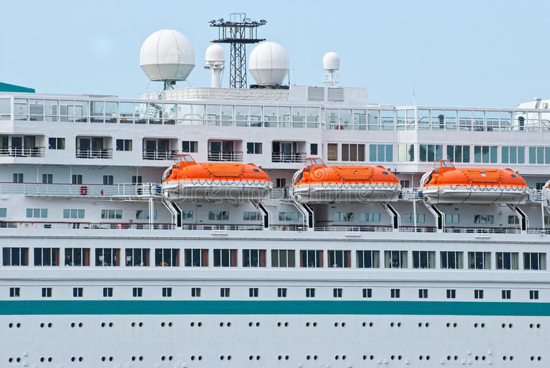 Download Lifeboats stock image. Image of cruiser, vacation, transport - 24939575