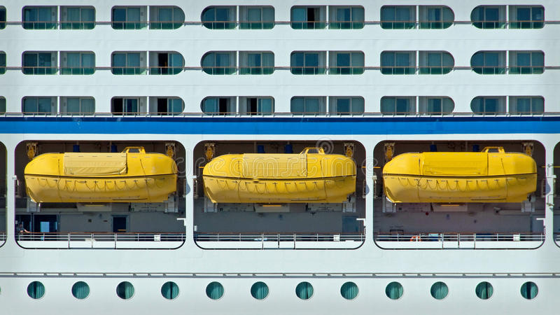 lifeboatshyttventiler royaltyfria bilder