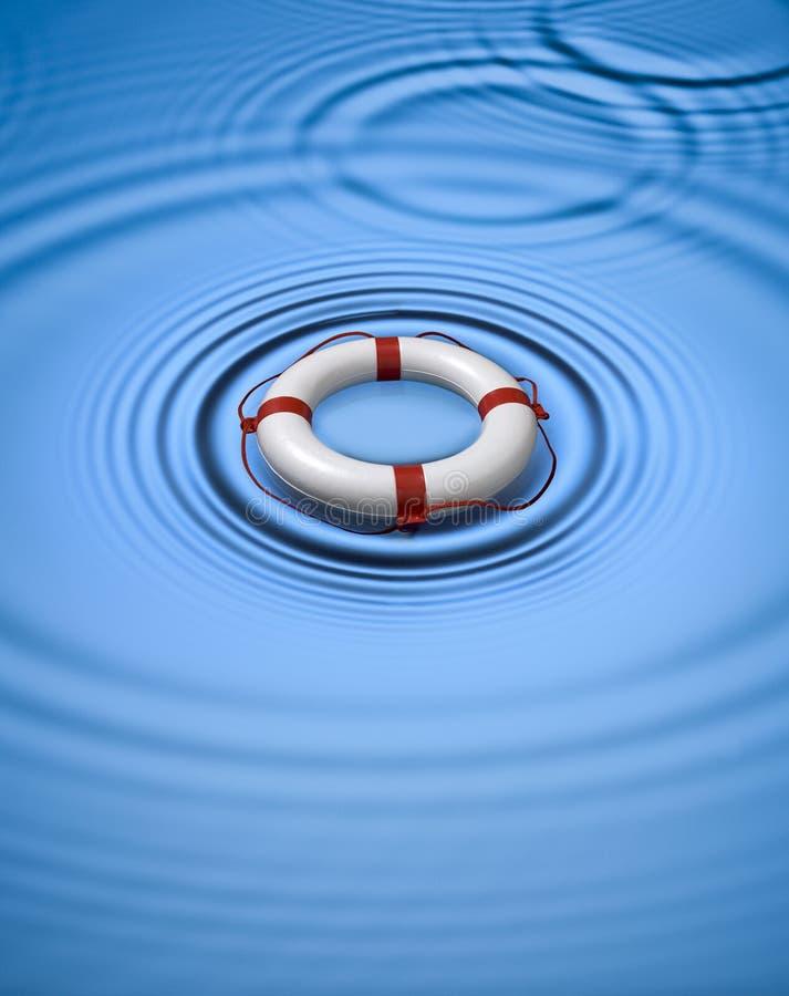 lifebuoy保管者环形水 库存例证