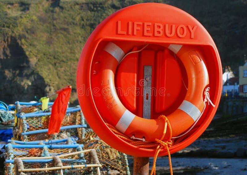 Lifebuoy圆环 免版税库存照片