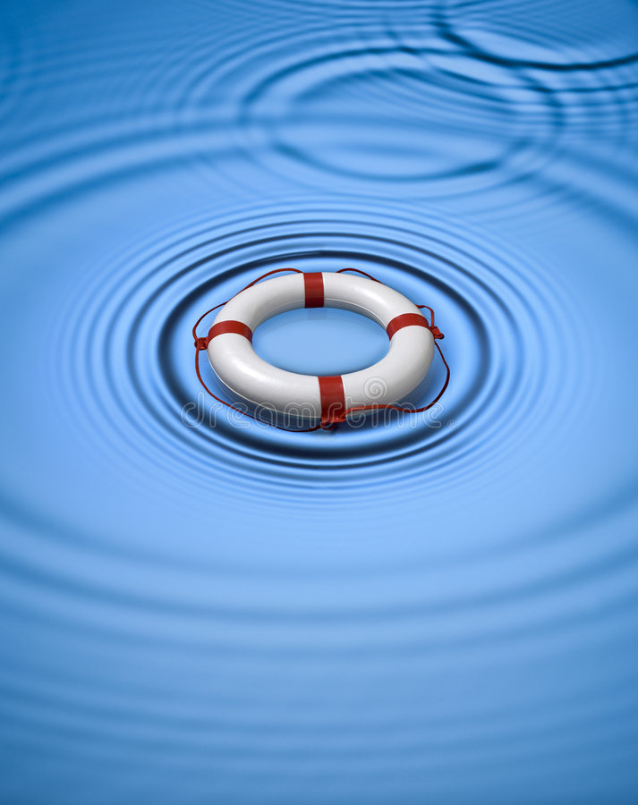 lifebuoy вода кольца preserver иллюстрация штока