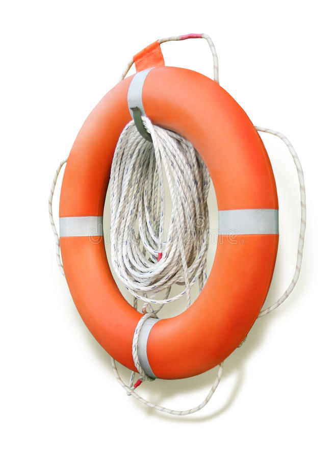 Download Lifebuoy stock image. Image of risk, cruise, isolated - 19664715