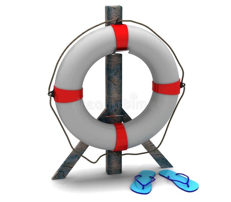 Lifebuoy ilustração do vetor