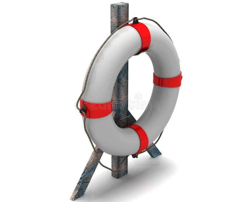 Lifebuoy ilustração stock