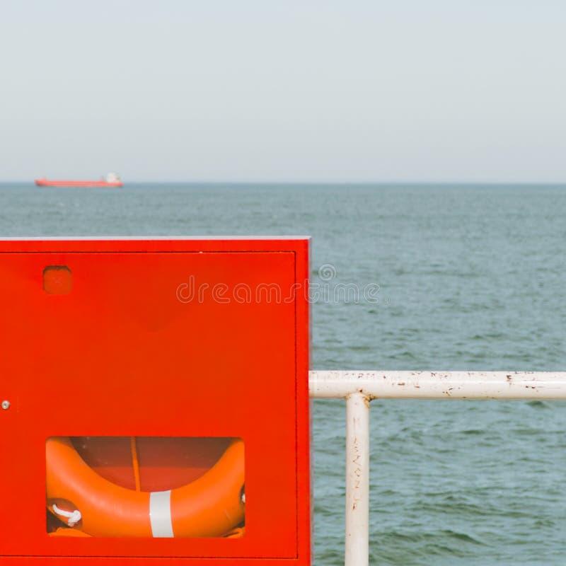 Download Lifebuoy. stock image. Image of large, freight, boat - 23989271