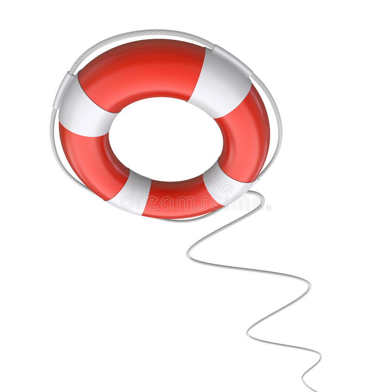 Download Lifebuoy stock illustration. Image of shiny, round, belt - 25648517