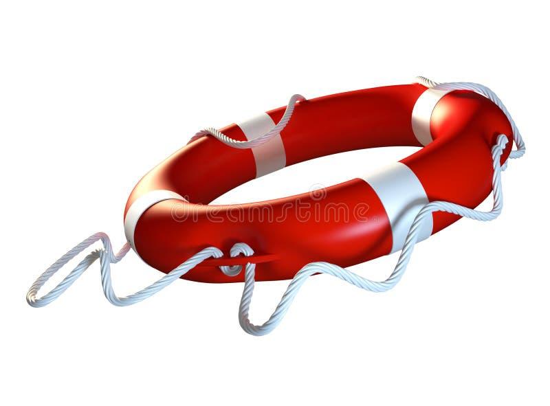 Download Lifebuoy stock illustration. Image of render, rubber - 27759906