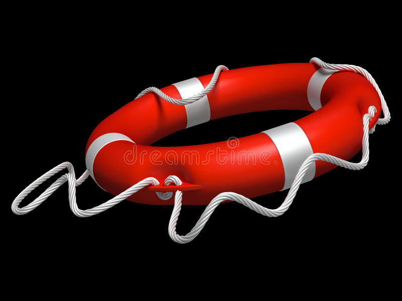 Lifebuoy vektor illustrationer
