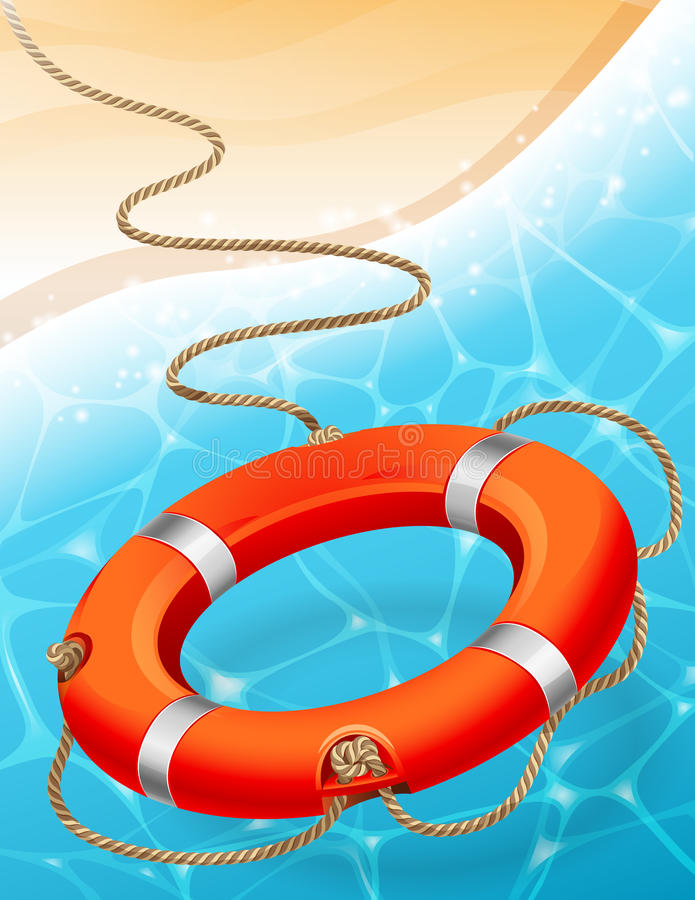 lifebuoy stock illustratie