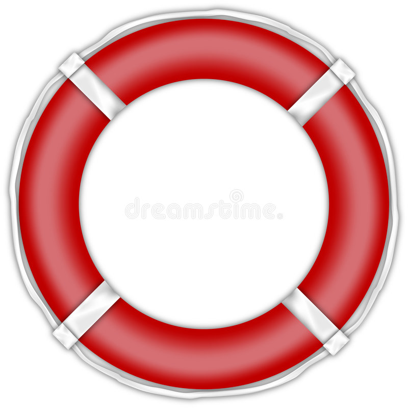 Lifebuoy illustration libre de droits