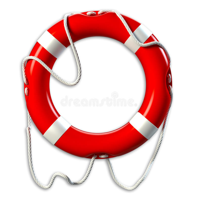 lifebuoy illustration stock