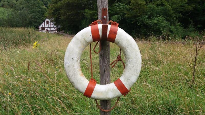 A lifebuoy stock photo